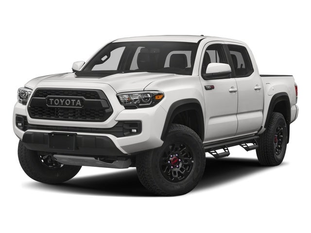 2018 Toyota Tacoma Trd Pro V6 A6 4x4 Double Cab 127 4 In Wb