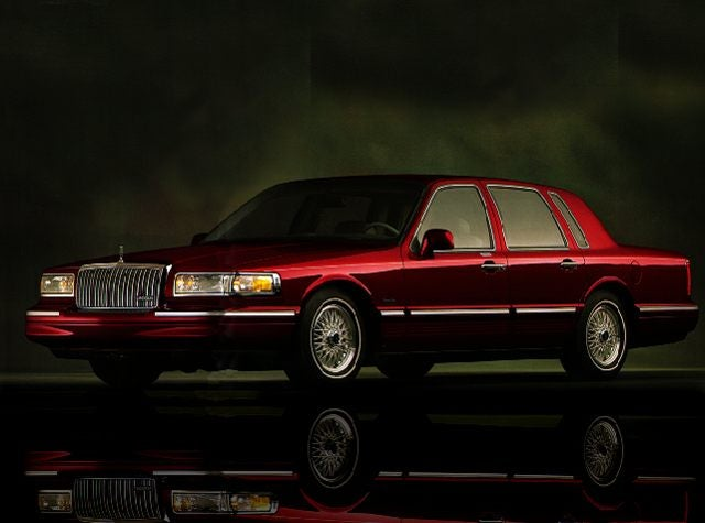 1997 Lincoln Town Car Executive Sedan Greer Sc Toyota Of Greer