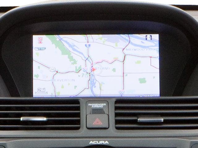 2012 Acura TL 3 5 w Technology Package Front wheel Drive Sedan