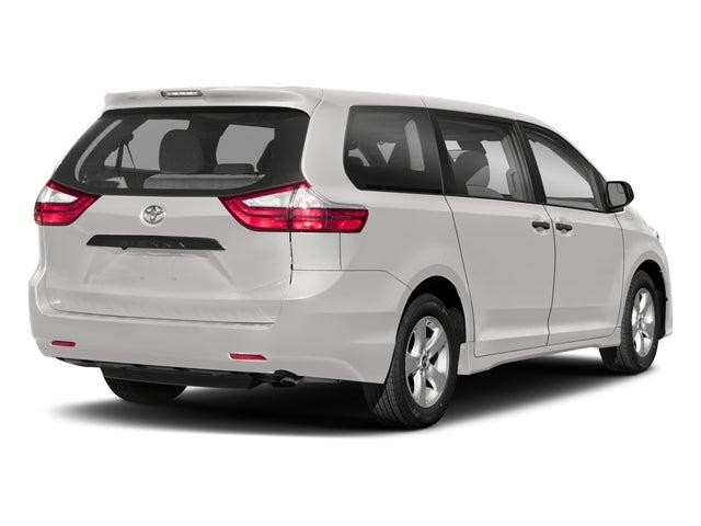 2018 toyota sienna l 7 passenger front wheel drive passenger van