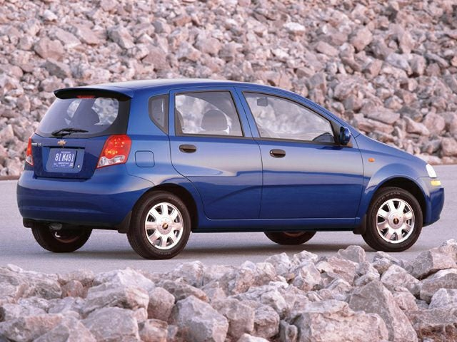 2005 Chevrolet Aveo Lt Hatchback Greer Sc Toyota Of Greer