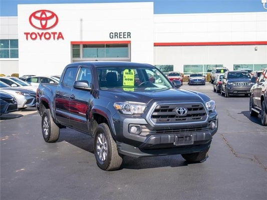 2017 Toyota Tacoma Sr5 V6 4x2 Double Cab 127 4 In Wb Greer Sc Toyota Of Greer Serving Greenville Easley And Spartanburg Sc