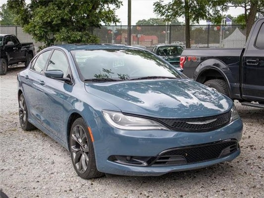 2015 Chrysler 200 S Front Wheel Drive Sedan Greer Sc Toyota Of Greer Serving Greenville Easley And Spartanburg Sc